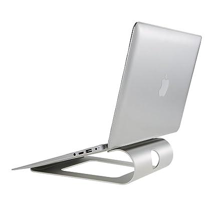 Docooler - Soporte de Aluminio para Ordenador portátil, diseño ergonómico, con Soporte de refrigeración