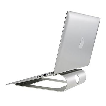 Docooler - Soporte de Aluminio para Ordenador portátil, diseño ergonómico, con Soporte de refrigeración para MacBook ...