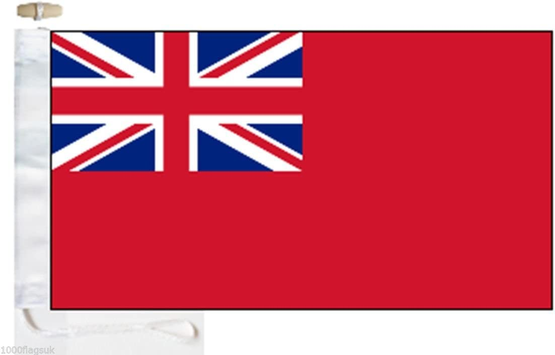 Merchant Navy Red Ensign 3/'x2/' Flag