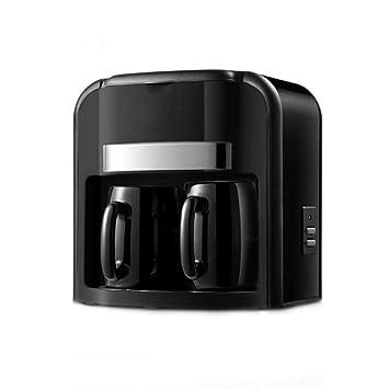 Máquina Elétrica De Café Drip Coffee Maker Con Dos Tazas De Porcelana Para Hogar Oficina: Amazon.es: Hogar