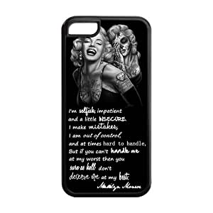 Customize Your Own Marilyn Monroe Cellphone Case Suitable for iphone 5C JN5C-1576