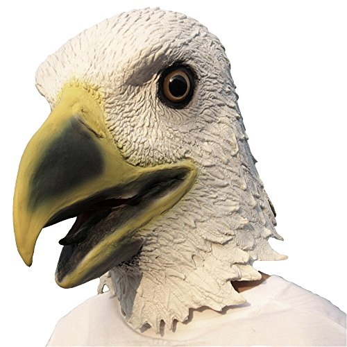Aqkilo Eagle mask Latex Animal Head mask Halloween Costume