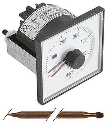 Termostato Co 0–500°C MAX. Sonda de temperatura 500°C Diámetro 8mm x 150mm 5A Compatible con OEM 22, 23, 32, 33, 34para pizza Horno