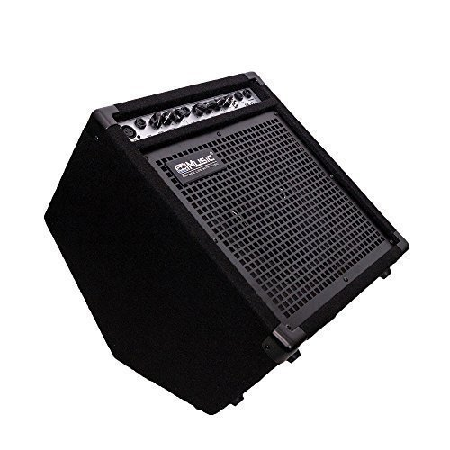 Coolmusic DK-35 35watts Personal Monitor Amplifier Electric Drum Amplifier PA Workstation Keyboard Speaker and Acoustic Guitar (Acoustic Guitar Amp Amplifier)