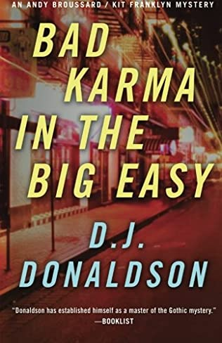book cover of Bad Karma In the Big Easy