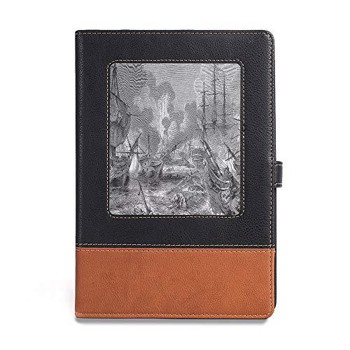 Hardcover Notebook,War Home Decor,A5(6.1