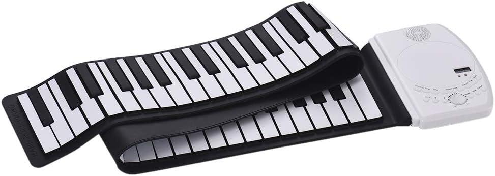 Teclado electrónico de piano portátil con 88 teclas, piano ...