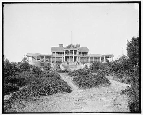 HistoricalFindings Photo: Casino,Cape Cottage,buildings,Elizabeth,Portland,ME,Detroit Publishing Co,1900