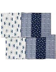 Gerber baby-boys 8-pack Flannel Burp Cloth baby-bibs