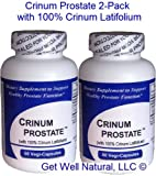 Cheap Crinum Prostate 2-Pack (60 Caps per Bottle) 100% Concentrated Vietnamese Crinum Latifolium, CONTAINS NO Synthetic fillers such as Silicon Dioxide, Talc, Magnesium Sterate, etc.