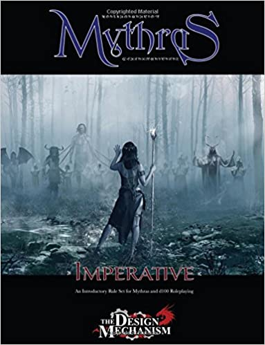 Book Mythras Imperative: An Introductory Rule Set for Mythras and d100 Roleplaying
