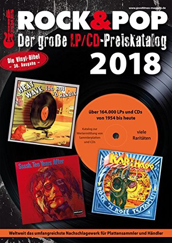 Der große Rock & Pop LP/CD Preiskatalog 2018