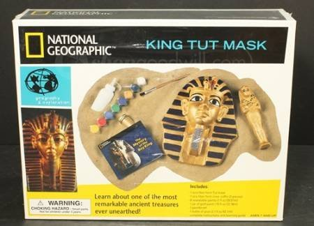 National Geographic King Tut Mask (King Tut Toys)