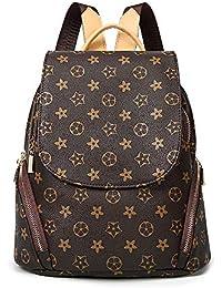 Fashion Leather Backpack Purse for Women, Designer PU Shoulder Bag Handbags Travel Purse