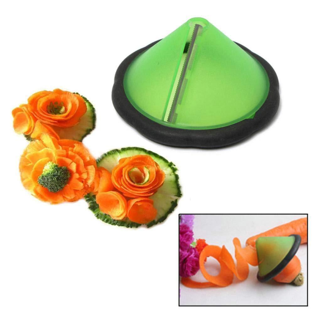 Longay Creative Kitchen Gadets Fruit Vegetable Spiralizerl Slicer Peeler Cucumber Tool