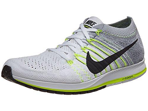 Nike Unisex Flyknit Streak Scarpa Da Corsa Wh / Blk / Vlt