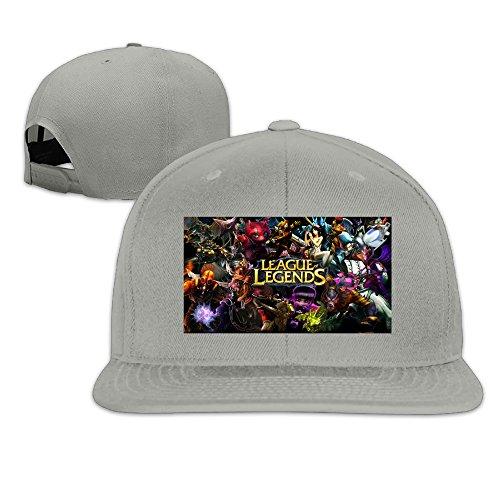 [League Of Legends Unisex Fashion 100% Cotton Baseball Cap Hat For Men And Women] (Vanderbilt Commodore Costumes)