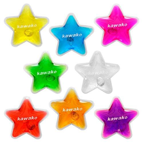 Taschenwärmer 8er Set Multicolor - Stars Handwärmer Heizpad Firebag