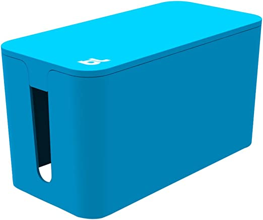 Blue White Black BlueLounge Cablebox /& Cablebox Mini Cable Management System