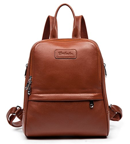 BOSTANTEN Women Leather Backpack Purse Satchel Shoulder School Bags