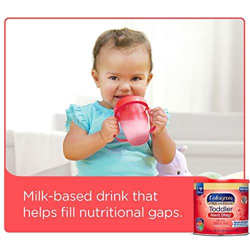 Enfagrow PREMIUM Next Step Toddler Milk Drink Powder, Natural Milk Flavor, 32 Ounce (Pack of 6), Omega 3 by Enfamil (Image #4)