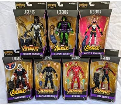 "LASER VIVENTE corazzata THANOS BAF Marvel Legends 6/"" Avengers mossa finale WAVE 1"