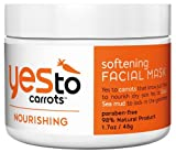 Yes To Carrots Softening Facial Mask, 1.7 Ounce