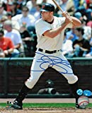 Signed Nate Schierholtz Photo - 8x10 At Bat - Autographed MLB Photos