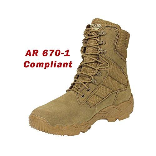 Condor Gordon Combat Boot - Coyote Brown - 10.5
