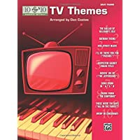 10 For 10 Sheet Music Tv Themes: Easy Piano Solos