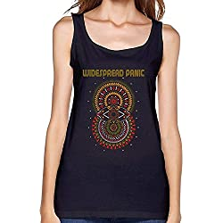 SUNRAIN Women's Widespread Panic Tour Poster Tank Top