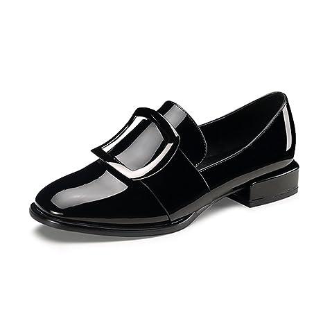 fd2080e0e LIANGJUN Zapatos De Mujer Tacones Bajos Botines Primavera