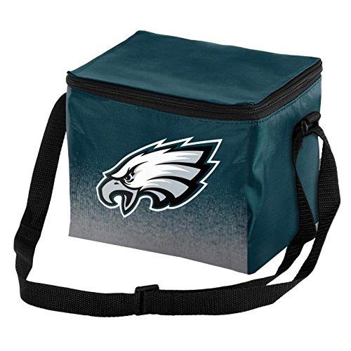 [NFL Football Team Logo - Gradient Print- Lunch Bag Cooler - Holds up to a 6 Pack  (Philadelphia Eagles)] (Nfl Lunch Cooler)
