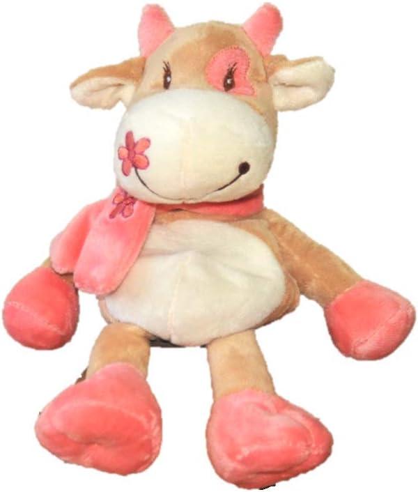 Warmies. Peluche térmico de vaca con bufanda. Peluche para ...