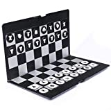 Foldable MINI Magnetic Chess Set Portable Wallet Pocket Chess Board Games