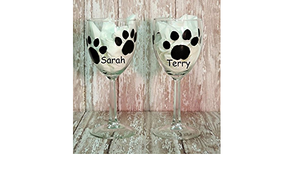 Personalised Chinese Crested Dog Wine Glass Dog Lover Gift For Her Crested Dog Crystal Glass Gift Hand Engraved Gift For Dog Lovers