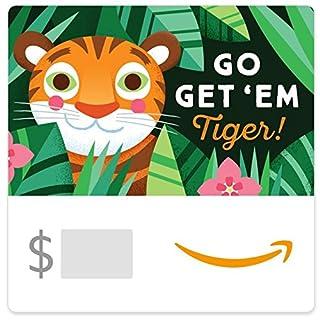 Amazon eGift Card -Go Get 'em Tiger (B07586K5FR) | Amazon price tracker / tracking, Amazon price history charts, Amazon price watches, Amazon price drop alerts