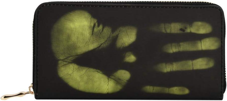 ZMMQBD Nuevo Cambio de Sentido térmico mágico Color Cartera Larga Hombres Mujeres Caja del teléfono PU Cuero Titular de la Tarjeta Monedero Hombre Mujer Carteras 5.0