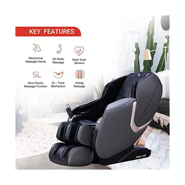 51IwbppSdsL Robotouch Urban Full Body Massage Chair (Black)