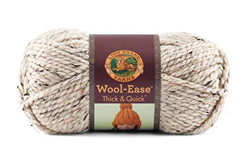 Lion 640 123E Wool Ease Yarn Oatmeal
