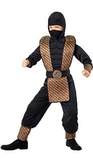 Amazon.com: Rubies Halloween Concepts Childs Red Ninja ...