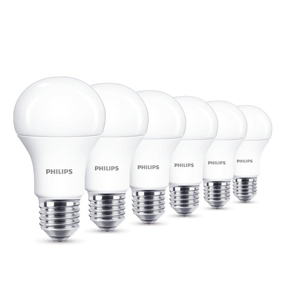 Philips 8718696577035 EEK A+ LED Lampe, 13W (ersetzt 100W), E27, Warmweiß (2700 Kelvin), 2-er Pack 929001234561
