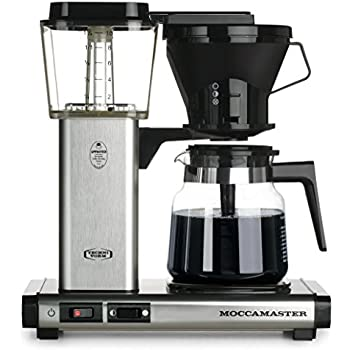 moccamaster kb 741 10cup coffee brewer with glass carafe brushed silver - Coffee Brewer