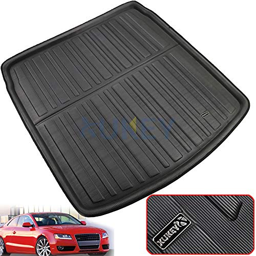 (XUKEY for VW Golf Estate Jetta Sportwagen Wagon Variant MK5 MK6 2005-2014 Rear Cargo Boot Liner Tailored Trunk Tray Boot Floor Mat Carpet)