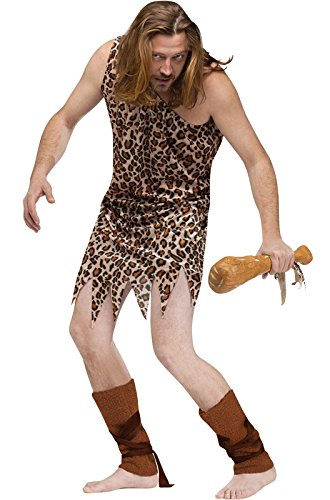 Fun World Cave Man Adult Costume (One SIze)