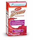 Boost Breeze Nutritional Drink, Wild Berry, 8 fl oz Box, 27 Pack