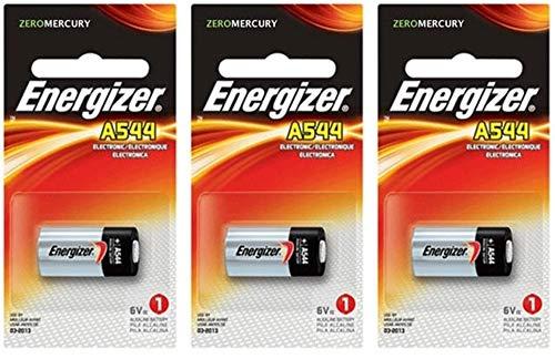 Energizer A544 6-Volt Photo Battery 3 Pack