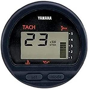 Yamaha 6Y5-83500-T0-00 Tachometer Assembly (Round); New # 6Y5-8350T-D0-00 Made by Yamaha