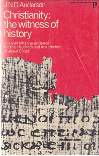 d4df52c79 Christianity  the witness of history  A lawyer s approach (A Tyndale  paperback) Paperback – 1969