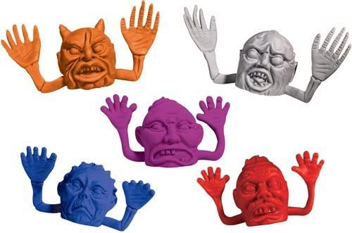 MONSTER Finger Puppets (NEW) Party Favors 12 count / MONSTER Finger Puppets (NEW) Party Favors 12 count